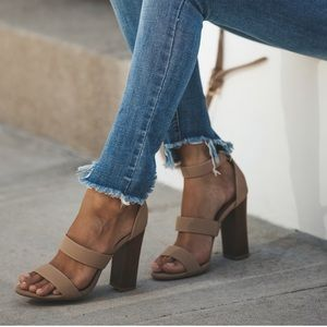 Madison nude heel
